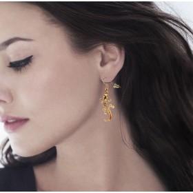 Modèle de boucles d'oreilles