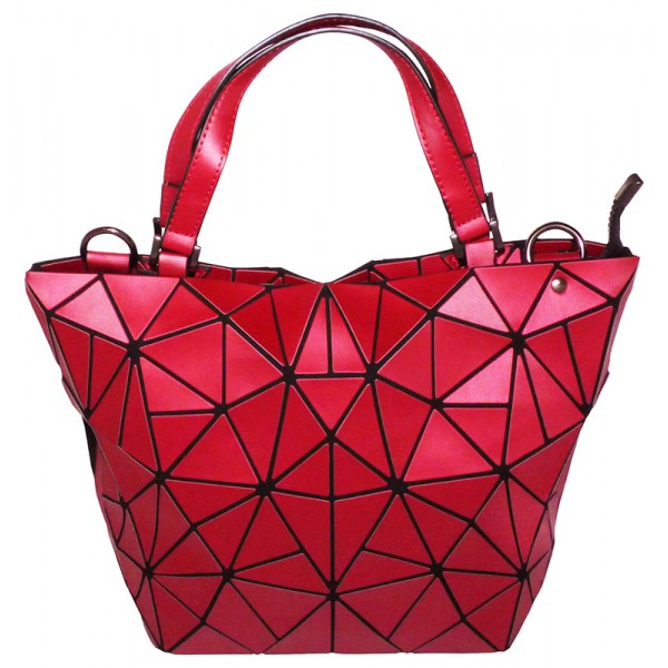 Sac transformable shopping bag rouge