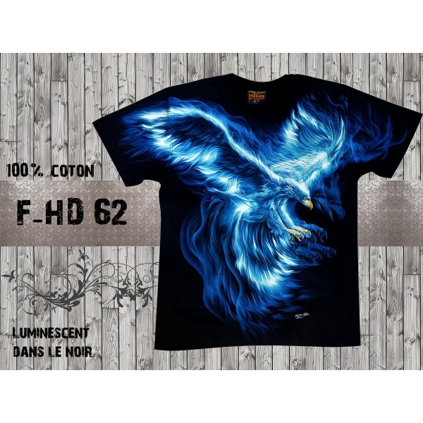 T-shirt Phoenix bleu
