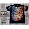 T-shirt yin et yang