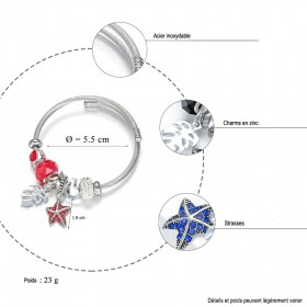 Détails et mesure du bracelet