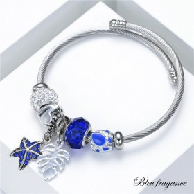 Bracelet flagrance bleu