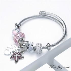 Bracelet flagrance rose