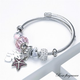 Bracelet flagrance rose