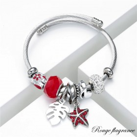 Bracelet flagrance rouge